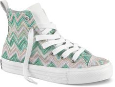 Chuck Taylor + Missoni = awesome cool