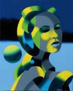 Mark Adam Webster - Dark Matter Painting Series #5, painting by artist Mark Adam Webster