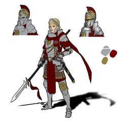 The Centurions of House Leo serve as medium ranked front-line officers, and actively participate in combat. Centurions are drawn from both military academies as well as from veterans and distinguis...