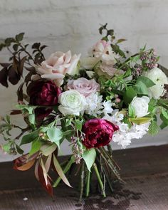 Pretty bouquet by @jjjanejjj at Monday's workshop. Gorgeous tulips grown by @thefloureandtheleafe and pleased my lilac looks like it is about to appear! Have a lovely day everyone xx #tulips #britishflowers #ranunculus #lilac #flowers