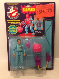 The Real Ghostbusters  Slimed Heroes  Winston by MikesVintage