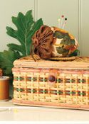 FREE PATTERN: Collecting Acorns Pincushion (from Sew-it...today Magazine)