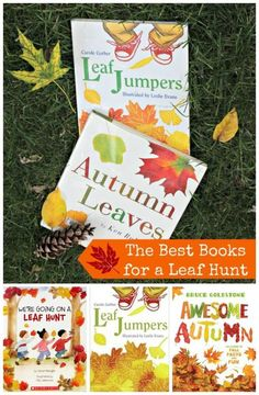 Great picture books to take on a leaf hunt this Fall!  Perfect nature & science for preschool and elementary kids.