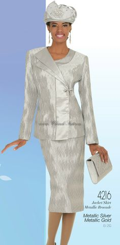 women's church suits 2014 | champagne 4216 womens church suits spring 2014 jacket skirt metallic ...