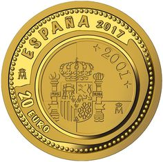 Monedas, monedas y más monedas Gold And Silver Coins, Euro, Personalized Items, Shopping, Coins, Stamps, Silver, Jewels