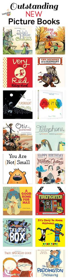 Outstanding new picture books, summer 2014, via Imagination Soup @melissa_taylor2