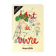 Carnet l'Art de vivre - 13,5 x 21 cm - 100 g/m² Bullet Journal, Books, Libros, Book, Book Illustrations, Libri