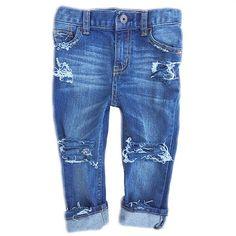 "The ""Farm Fresh Original""- Medium Wash Distressed Jeans- Distressed Denim for Toddlers, Infants, Kids by FarmFreshDenim on Etsy https://www.etsy.com/listing/244429285/the-farm-fresh-original-medium-wash"