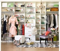 """I'm in the process of transforming an extra bedroom into my """"dressing room/closet"""".  A few walls like this will come in handy."""