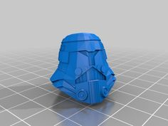 Imperial Helmet (Ex .PDO) Now Printable by Jace1969 - Thingiverse
