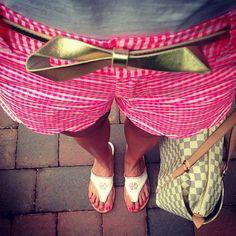 #summerinlilly #ootd #preppy #southern #lillypulitzer #bow #monogram #ifitsnotmonogrammeditsnotmine #louisvuitton
