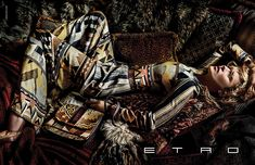 Kate Moss for Etro Fall/Winter 2015/2016 - Page 2 | The Fashionography