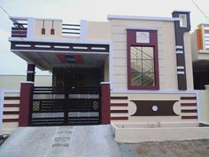 House Front Wall Design, House Balcony Design, House Outer Design, Single Floor House Design, House Outside Design, Village House Design, Duplex House Design, Kerala House Design, Small House Design