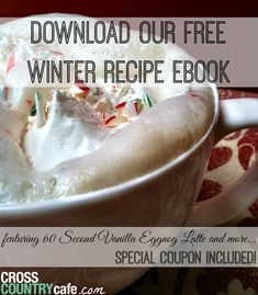 Free Winter Coffee Recipe Ebook