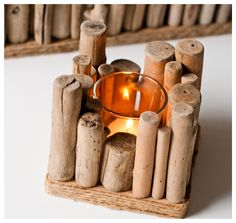 driftwood - other sticks or even corks could be used as well/instead