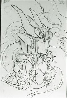 Ysera Fanart. She is one of my favorite WoW characters