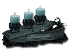 I found 'Nightmare Before Christmas Candle Holders' on Wish, check it out!