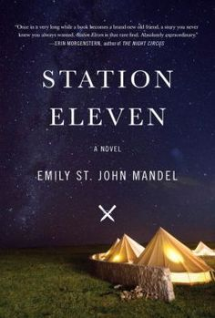 Station Eleven. Spanning decades, moving back and forth in time, novel follows several connected characters depicting life before and after a pandemic in the eerie days of civilization's collapse.