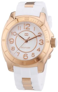42fb1296708c89 Tommy Hilfiger 1781305 Ladies White and Rose Gold K2 Watch     Be sure to