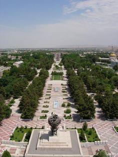 Ashgabat, Turkmenistan, 1985.