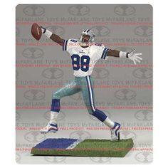 McFarlane NFL Series 33 Michael Irving (White Jersey) Dallas Cowboys White  Jersey 02ea8dc96
