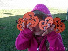 Five Little Pumpkins - finger puppets!