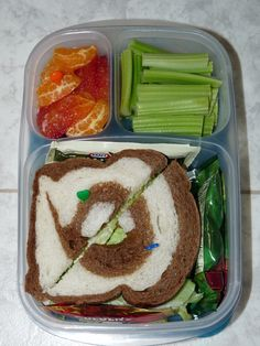 Simple Sandwich #Easylunchboxes Bento