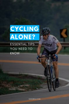 Cycling Alone  Essential Tips You Need to Know cbb72f79e