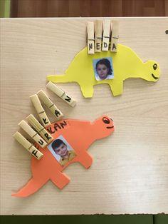 Dinasour, preschool crafts