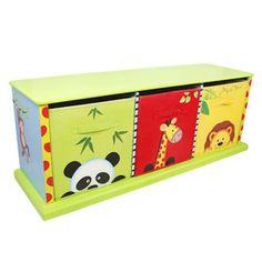 Sunny Safari 3 Compartment Cubby Base Set