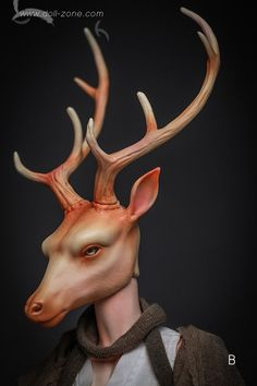 Deer, Doll Zone Special Doll - BJD Dolls, Accessories - Alice's Collections