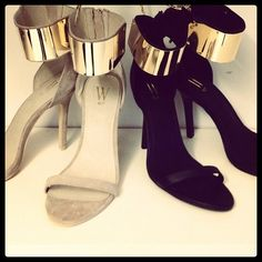 OMG These shoes. LUST. chanel bags and cigarette drags