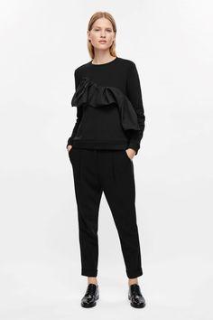 COS | Sweatshirt with ruche detail