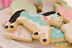 Vintage Pony Soiree via Kara's Party Ideas | Kara'sPartyIdeas.com
