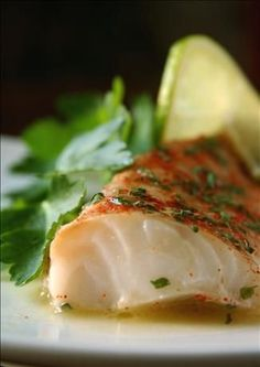 Always looking for creative, flavorful ways to prepare that inexpensive white fishChili, Lime & Cumin Cod. Always looking for creative, flavorful ways to prepare that inexpensive white fish Fish Dishes, Seafood Dishes, Fish And Seafood, Seafood Recipes, Cooking Recipes, Healthy Recipes, Easy Cod Recipes, Baked Cod Recipes Healthy, White Fish Recipes