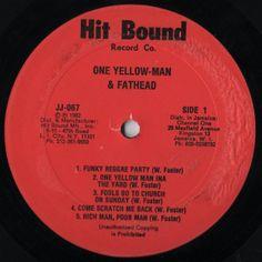 Yellowman And Fathead - One Yellowman (Label)