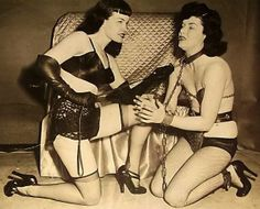 """Irving Klaw was, in many ways, the pioneer of fetish photography. He was the man mostly responsible for the career of the legendary Bettie Page, and during the post war years he supplied the USA's fetish fans with well shot and imaginative images.  His sister Paula ran their New York shop """"Movie Star News"""" and also assisted her brother on shoots. I met her there in the late 1980's"""