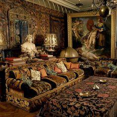 coisasdetere:  Rudolf Nureyev residence in Paris.