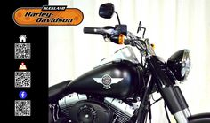 2014 HARLEY-DAVIDSON FLSTFB in Black Denim At Auckland Motorcycles & Power Sports,  New Zealand www.amps.co.nz