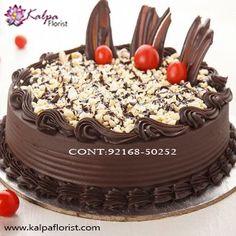 Premium Quality Choco-Walnut Delight 2 kg ( Send Fresh Cake Online Ludhiana ) Order Birthday Cake Online, Send Birthday Cake, Birthday Cake Delivery, Special Birthday Cakes, Order Cake, Happy Birthday, Buy Cake, Cake Shop, Choco Chips Cake