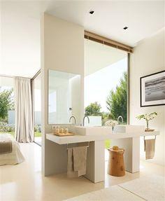 3 baños abiertos al dormitorio · ElMueble.com · Especiales