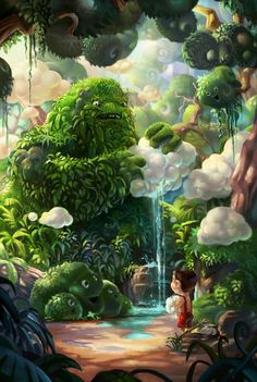 Victorior est un artiste freelance thaïlandais de 26 ans résidant à Bangkok. Il est spécialisé en 2D, illustration, character design et concept art. Son univers tourne autour des cartoons et de la fantasy. N'hésitez pas à faire un tour sur son portfolio pour en découvrir davantage ou à rejoindre sa page Facebook.