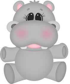 Resultado de imagen para diseños de hipopotamos en foami para imprimir