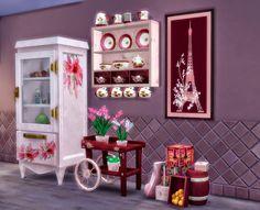 Sims 4. Shabby Kitchen Clutter2. - pqSim4