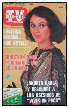 angelica aragon telenovela vivir un poco en su papel de andrea
