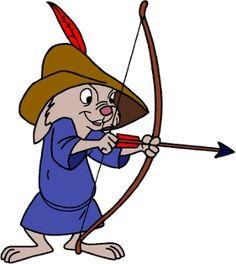 """You're pointing it too high!"" Skippy, Disney 1973 Robin Hood."