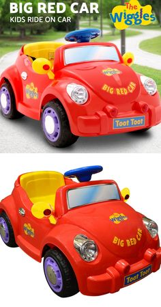 The Wiggles electric ride-on Big Red Car is here! Wiggles Birthday, Wiggles Party, The Wiggles, Baby Birthday, Girls Birthday Party Themes, Girl Themes, Kids Ride On, Hottest Toys, Ebay