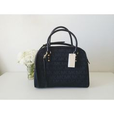 """Michael Kors • Black Satchel ✨HOST PICK✨TAKING OFFERS. Michael Kors Signature Large Satchel. Brand new with tag, no dust bag, 100% authentic. Just got a Selma and decided to sell this. Adjustable/removable strap. One pocket on the back. 4 side pockets inside plus 1 zipper pocket. L 13.5"""" x H 10.5"""" x Bottom W 6"""" & Top W 2"""". Original $398 plus tax. Feel free to ask me any questions.   • No trade, my closet is full • Make me an offer   • Feel free to ask me any questions Michael Kors Bags…"""