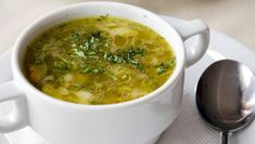 cesnakova-polievka Food Business Ideas, Vegan Comfort Food, Comfort Foods, Soup Kitchen, Ginger Tea, Foods To Avoid, Organic Vegetables, Natural Health, Food And Drink