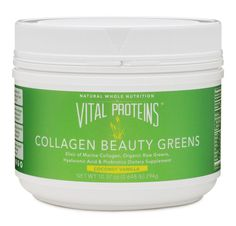 Vital Proteins Collagen Beauty Greens 10oz Coconut Vanilla